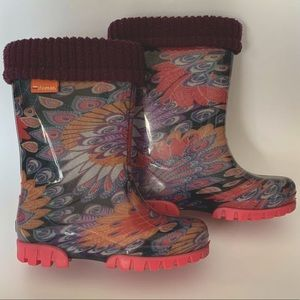 Demar kids winter gumboots